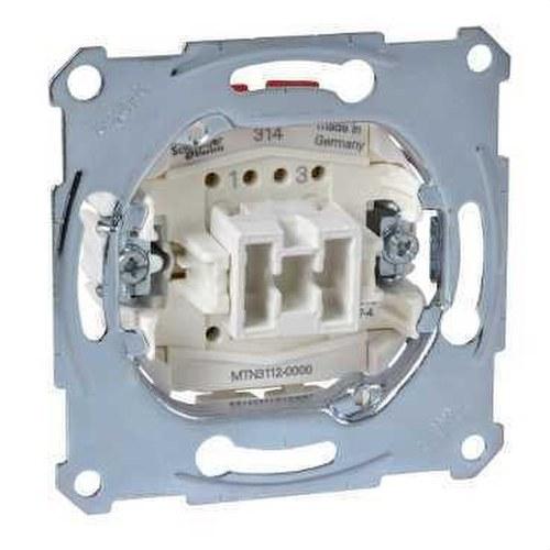 Sourcingmap Interruptor de cable en l/ínea AC 250 V 1 A interruptor basculante doble de encendido y apagado para rec/ámara luz de escritorio l/ámpara de mesa