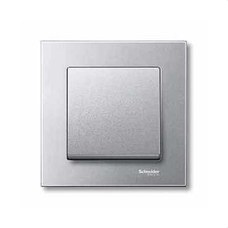 SCHNEIDER ELECTRIC MTN433160 Tecla simple ELEGANCE aluminio