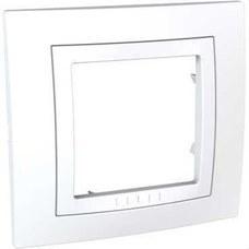 SCHNEIDER ELECTRIC U2.002.18 Marco BASIC con 1 elemento blanco polar serie ÚNICA