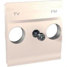 SCHNEIDER ELECTRIC U9.440.25 Caratula toma TV/FM marfil serie ÚNICA