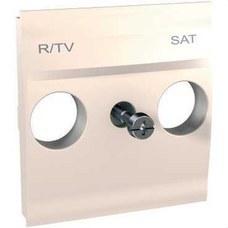 SCHNEIDER ELECTRIC U9.441.25 Caratula toma R-TV/SAT marfil serie ÚNICA