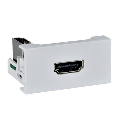 MODULO 45x22,5 CON HDMI TIPO-A BLANCO