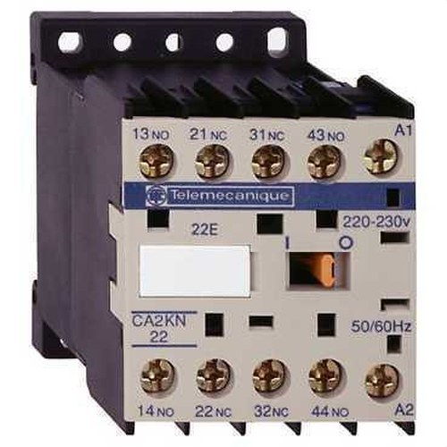 MINICONTACTOR AUXILIAR 3 NA+1 NC 24V CA 50-60Hz