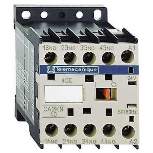 MINICONTACTOR AUXILIAR 4 NA 220V CA 50-60Hz