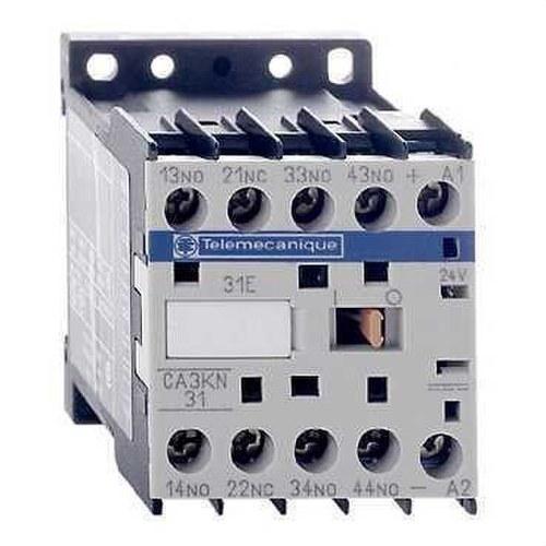 MINICONTACTOR AUXILIAR 3 NA+1 NC 24V CC
