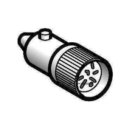 LÁMPARA LED 6V-1,2W BLANCO