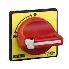 SCHNEIDER ELECTRIC KCF1PZ Mando giratorio frontal maneta roja con 1/3 candados