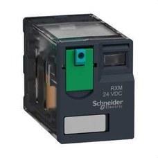 SCHNEIDER ELECTRIC RXM2AB1BD Relé miniatura 12A 2 NA/NF 24V CC