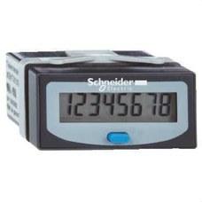 SCHNEIDER ELECTRIC XBKH81000033E Contador horario batería con 8 dígitos 1/100h