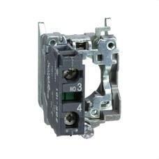 SCHNEIDER ELECTRIC ZB4BZ101 Cuerpo diámetro 22mm 1 NA con conexión tornillo embellecedor metálico