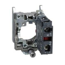 SCHNEIDER ELECTRIC ZB4BZ102 Cuerpo diámetro 22mm 1 NC con conexión tornillo embellecedor metálico
