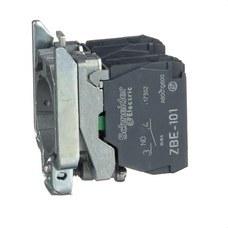 SCHNEIDER ELECTRIC ZB4BZ103 Cuerpo diámetro 22mm 2 NA con conexión tornillo embellecedor metálico
