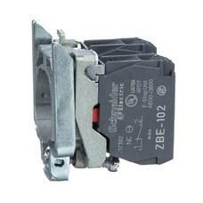 SCHNEIDER ELECTRIC ZB4BZ104 Cuerpo diámetro 22mm 2 NC con conexión tornillo embellecedor metálico