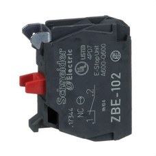 SCHNEIDER ELECTRIC ZBE102 Bloque contacto estándar simple 1 NC tornillo