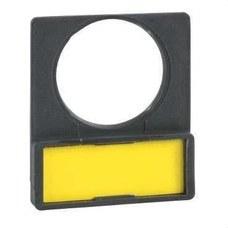 SCHNEIDER ELECTRIC ZBY4101 Portaetiquetas estándar 30x40 con etiqueta fondo blanca