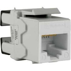 SCHNEIDER ELECTRIC DCEKYSTUWT Conector RJ45 categoría 5E UTP KEYSTONE negro