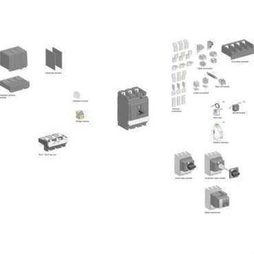 CUBREB 3P CONEX SERIE NSX400/630DC