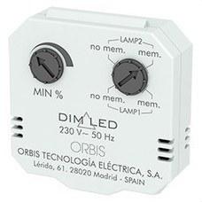 ORBIS OB200009 REGULADOR LUMINOSIDAD DIM LED 3-4 HILOS