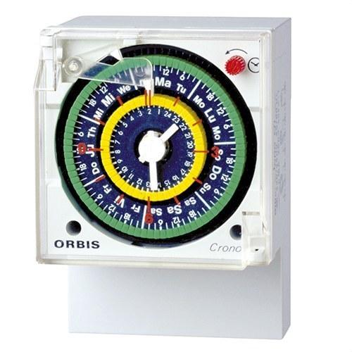 Interruptor horario analógico CRONO QRD 230V