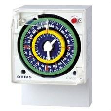 ORBIS OB051023 Interruptor horario analógico CRONO QRS 230V