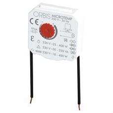 ORBIS OB200004 Temporizador con sensor capacitivo MICROTEMP para montaje en caja de mecanismo universal 23