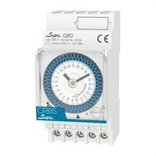 ORBIS OB290232N Interruptor horario modular SUPRA QRD 230/120V