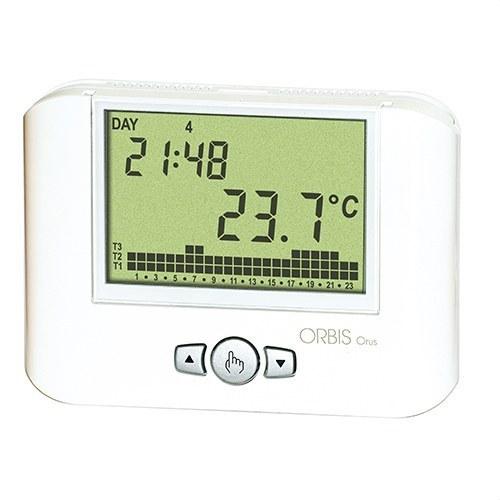 Cronotermostato semanal ORUS 3 temperatura blanco