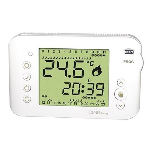 Cronotermostato semanal 3 temperatura MIRUS blanco