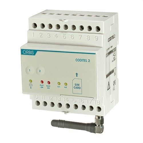 Controlador telefónico GSM CODITEL 2 con entradas y salidas
