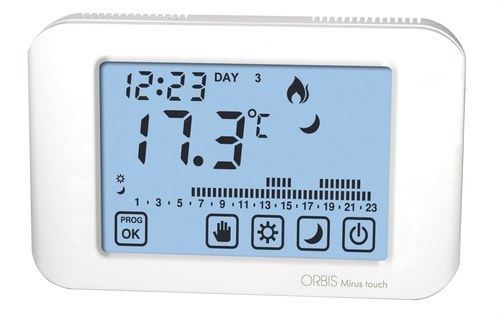 MIRUS TOUCH CRONOTERM.BLANCO