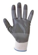 SOFAMEL 540140 Guantes de protección mecánica SH-370 T8 con nylon recubiertos de nitrilo gris en la palma