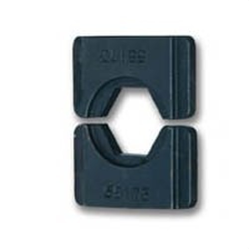 Matriz U5-K10M hexagonal 25mm² cobre