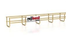 PEMSA 60222060 Bandeja de rejilla Rejiband altura 60 mm y ancho 60 mm con borde de seguridad, en acero, ac
