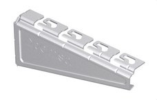PEMSA 62025103 Soporte reforzado RPLUS para bandejas Rejiband®, Pemsaband® y Megaband® de 100 mm de ancho,