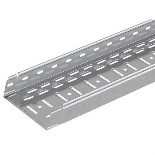 Bandeja 60x150mm sendzimir PG Pemsaband LX de chapa perforada y embutida para conducción de cableado de cargas medias y ligeras.
