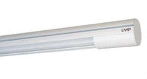 Luminaria suspendida LAMPTUB LED opal 6600 NW blanco