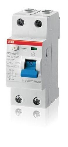 INT.DIF.F202AC-25/0,03 2P 25A AC 30MA