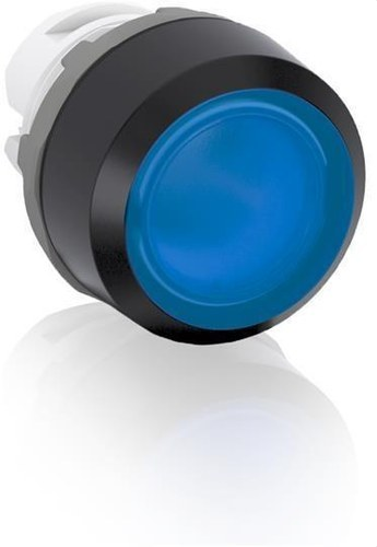 PULSADOR AZUL RASANTE MP1-11L LUMINOSO