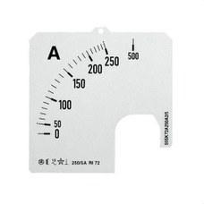 ABB 2CSG113299R5011 ESCALA AMPERIMETRO PANEL SCL-A1-500/96