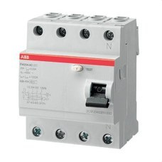 ABB 2CSF204004R1250 DIF.FH204AC-25/0,03 4P 25A AC 30mA