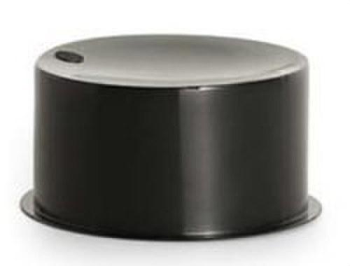 Tapón obturación Aiscan-DP diámetro 160 IP9 negro