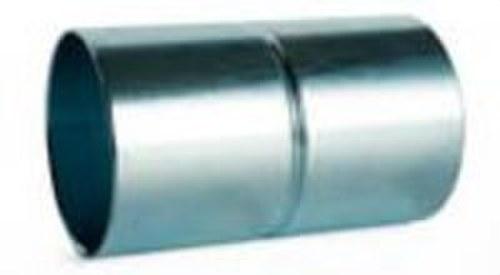 Manguito tubo metálico enchufable diámetro 40mm