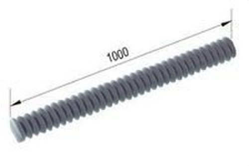Esparrago roscado M10 electrozincado