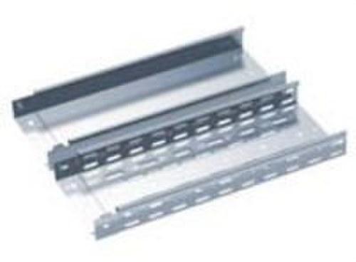 Canal metálica ciega 80x100 galvanizado caliente