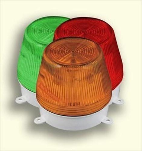 Avisador luz LED intermitente 24VCCA ámbar