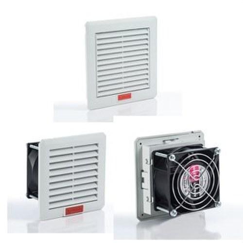Ventilador con filtro 110x110mm 24V DC
