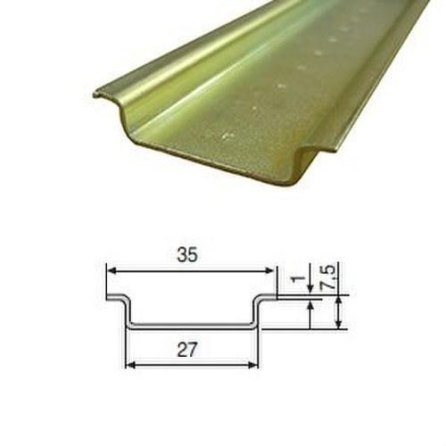 Perfil omega F-224-G liso galvanizado