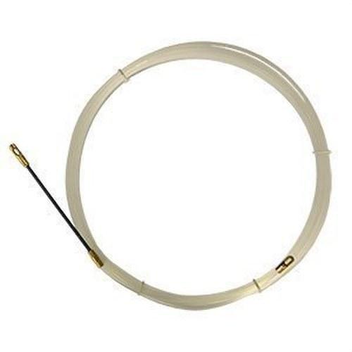 Guía pasacables nylon diámetro 3mm extremos fijos 15m