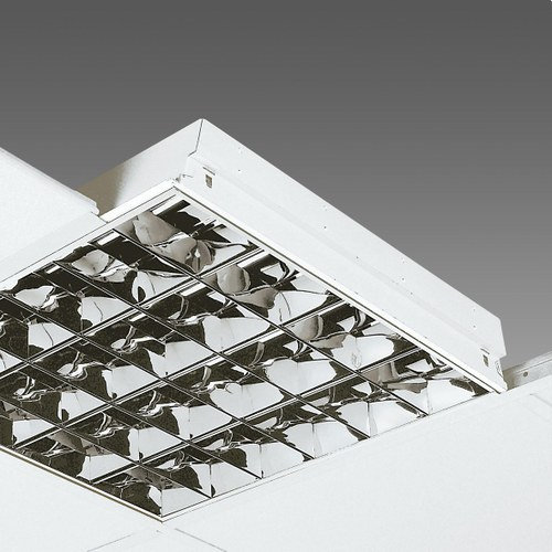 Luminaria 864EL COMFORT LIGHT T8 fluorescente 4x18