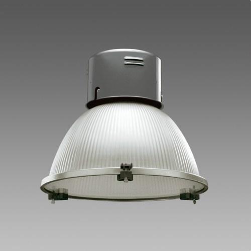 Luminaria industrial 1101 LUCENTE JM-E 400 negro cristal